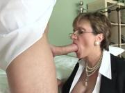 Unfaithful british mature lady sonia flashes her massive naturals