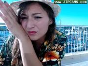 Zena at the sea III