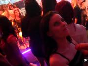 Hot girls get absolutely wild and naked at hardcore party
