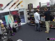 Fitness Trainer Gets Fucked In The Pawnshop