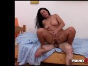 One legged amputee gets titsfuck on his lost leg. WTF amateur handicap porn