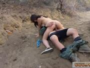 Amateur outdoor cheating Kayla West was caught lusty patrool during