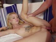 Sexy babe Arya Fae getting fucked by her horny bf