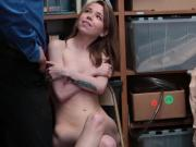LP Officer tell Alina West to give him blowjob