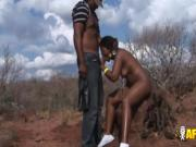 African teen tamed into submission
