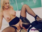 Busty Teacher Brandi Love Seduces Hung Student