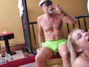 Double blowjob cum swap first time Age ain't nothing but a number!