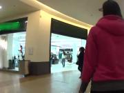 Attractive czech kitten gets seduced in the shopping centre and plowed in pov