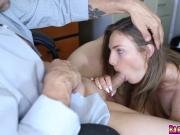 Shyla Ryder anal fuck doggy from behind by Mr Rich