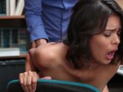 HOrny hottie babe Kat Arina loves large cock