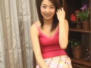 avmost.com - Japanese babe spread her legs and hand playing her muff