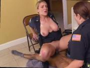 Milf blonde secretary Black Male squatting in home gets our milf