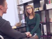 Geeky Teen Rachel Seduces Perverted Tutor