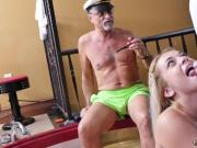 Her old boss and daddy spanking girl xxx Age ain't nothing but a