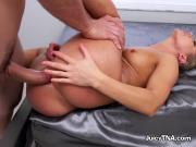 Blonde Babe Candice Dare Gets Impaled By Hung Mailman