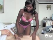 fake casting agent with big dick lets african beauty try out He promised her more work