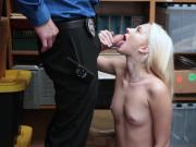 LP Officer ramming Riley Stars pussy doggystyle