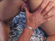 Small tits Lee Ann loves her stepdaddy's big hard dick