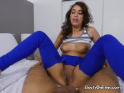 Sexy Ebony Babe Kitty Catherine Enjoys Hung Plumber