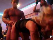 Slutty sweeties get fully insane and nude at hardcore party