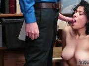 Office creampie xxx LP Officer eyed items being placed in purse with
