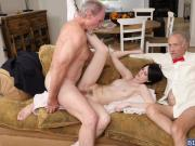Alex Harper got her anal fuck on top of Dukes cock