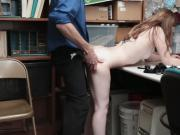 Gracie may gets fucked in doggystyle against the desk