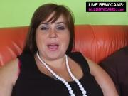 Shapely Brunette Girl Presents Her Blowjob Talents