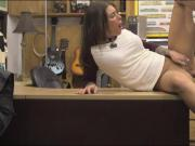 Pretty babe pounded by nasty pawn dude at the pawnshop