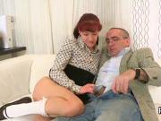 Elegant schoolgirl gets seduced and banged by her older schoolteacher