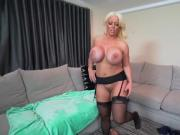 Mom blonde milf enjoys a good fucking Step Mom's New Fuck Toy