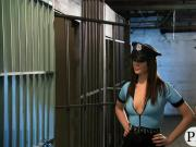 Kinky tramps foursome in the jailcell with nasty dudes
