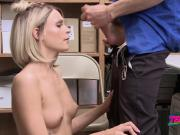 RANDY blonde fucked HARD and DEEP after stealing