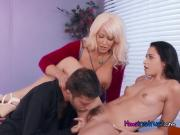 Stepfamily Has Oral Sex With Hung Lawyer