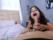 Stepson got her hot momma Trinity St Claire ride his cock