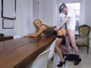 Blonde milf big tits office and blowjob fantasies 1 xxx Having Her