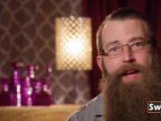 Bearded swinger wants to nail them so hard