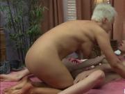 Busty Ryan Keely fucks eats her friends hairy pussy