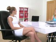 Agent licks her interior designer