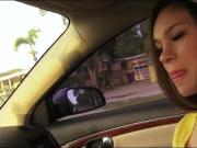 Hot ass teen hitchhikes and then pounded by nasty stranger