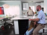 Swallow salon blowjob Alyssa Gets Her Way With Daddy's comrade
