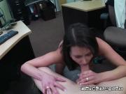 Customer Blows Big Throbbing Cock Of Pawnbroker