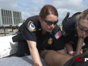 milfpolice take black cock to the roof