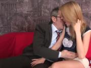 Ideal schoolgirl is tempted and shagged by her elder mentor