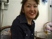 Japanese Mature Woman Shows Off Body