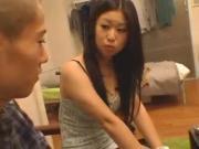 Asian Chick's Nice Boobies Handled