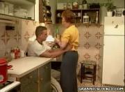 Wanton Sabrina Screws In Kitchen