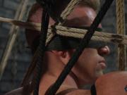 BDSM jocks butt gets spanked by top stud