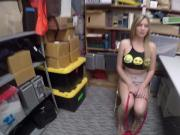 Smuggling Blair Williams caught and suck a big cock