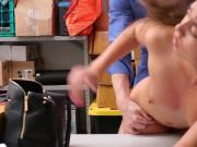 Young Shoplifter Shane Blair Gets Stripped And Fucked In Storage Room